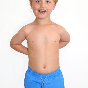 Detská bielizeň  Chlapčenské plavky Leonard Zaffiro farba modrá –  šuštiakovina ab47f16bf20