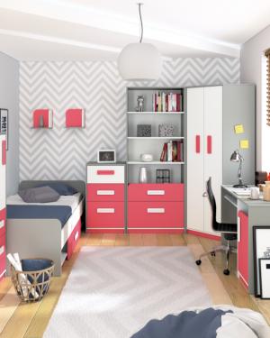 Detské izby pre chlapcov a dievčatá - komplety