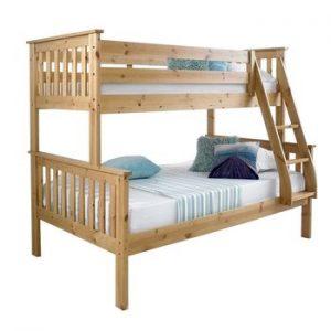 Poschodová posteľ s rozšíreným spodným lôžkom, LUINI aj do detskej izby