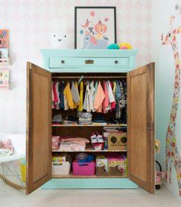 Nábytok: Detská izba Prerobená komoda do detskej izby